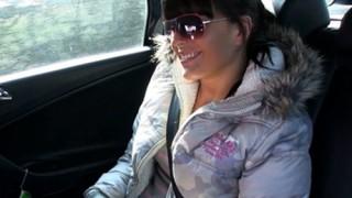 Fake Taxi Kristyna Aldatan Sevgiliye Taksici Şoku Türkçe Altyazılı
