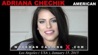 WoodmanCastingX Adriana İki Elemanı Aynı Anda İçine Alıyor Türkçe Altyazılı Porno