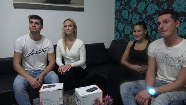 Czech Wife Swap 4 – Part 1 Eleman Sarışın Karısını Bırakıp Esmer Karıya Dalıyor Türkçe Altyazılı Porno