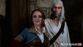 DigitalPlayground Ella, Geralt Tarafından Hunharca Sikiliyor The Bewitcher Türkçe Altyazılı Porno Parodi