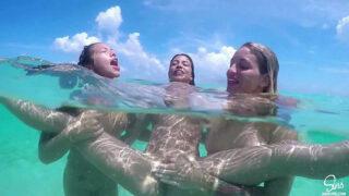Kissa Veronica ve Morgan Am Sularını Denize Saldı Türkçe Altyazılı Porno