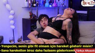 Porno Sever Yengeme Gittim Sikiş Teklif Etti